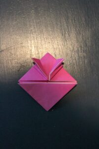 instructions for making origami jumping frogs