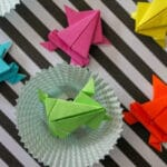 jumping origami frog instructions