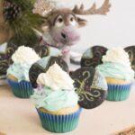 princess cupcakes for frozen movie