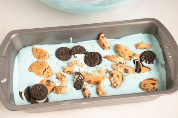 how to make homemade cookie monster ice cream