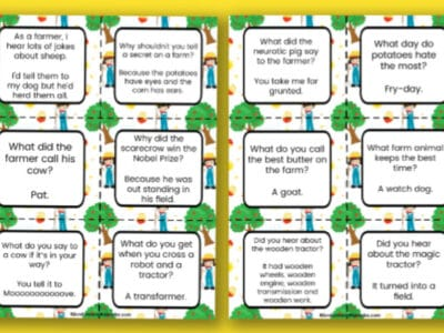 printable farm jokes for kids