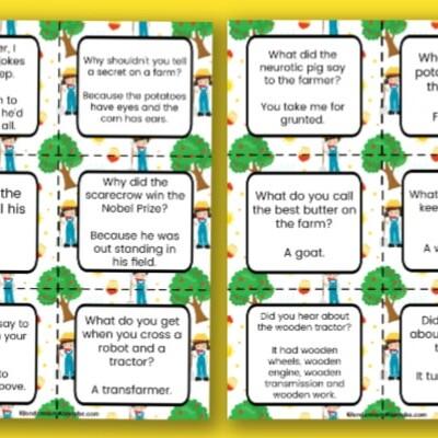 printable farm jokes for kids