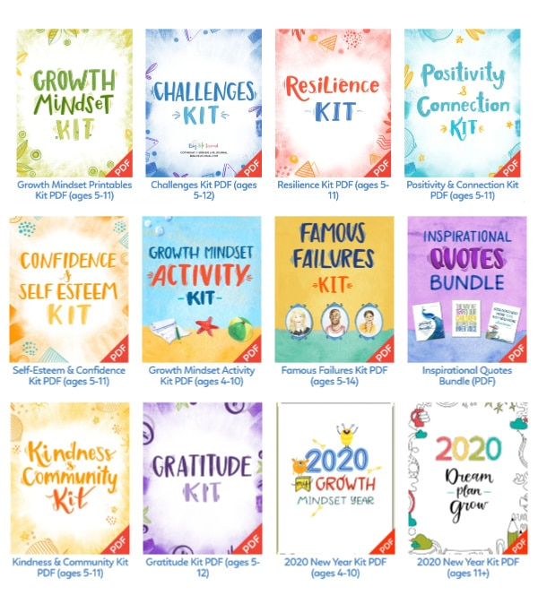 twelve printable kits for kids