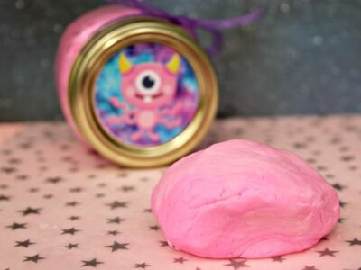 Edible Outer Space Play Dough
