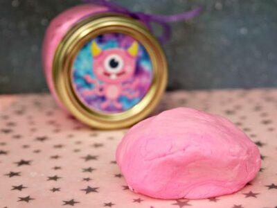Edible Outer Space Play Dough