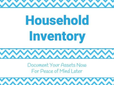 home inventory printable