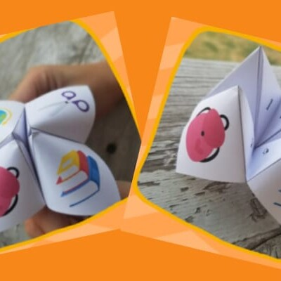 printable back to school chatterbox game