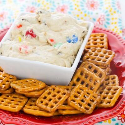 Cream Cheese Monster Cookie Dough Dip