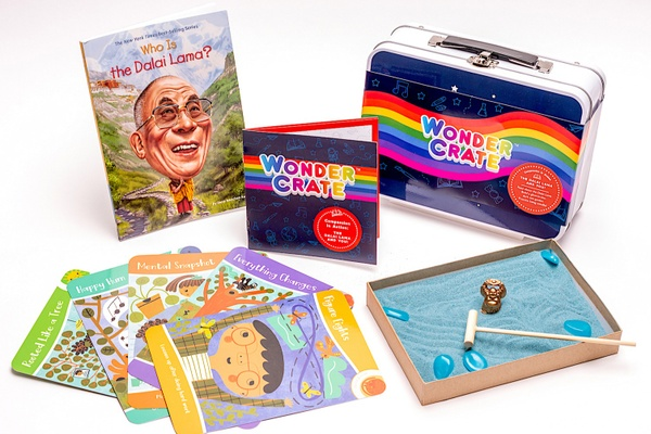 activities and a book from Wonder Crate, one of The 17 Best Monthly Book Clubs for Kids