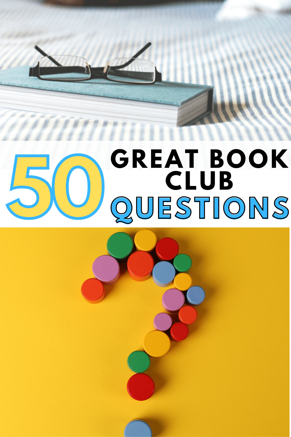 Make every book club discussion a meaningful one with these simple, but compelling book club questions that work for any book. #bookclub #books via @wondermomwannab