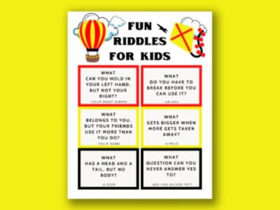 printable riddles for kids