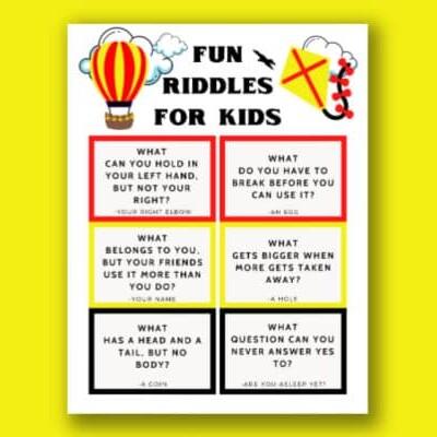 printable riddles for kids