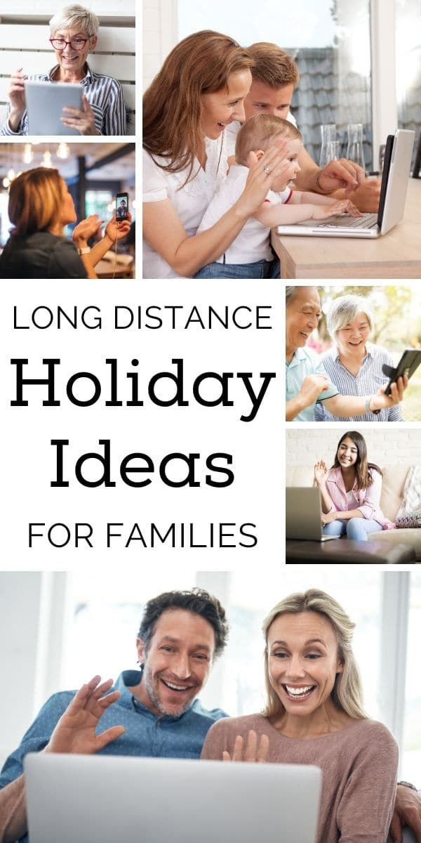 Can't be together for the holidays? Don't worry! I have several long distance holiday ideas for family you'll enjoy! #longdistanceholidayideas #longdistance #holidayideas via @wondermomwannab