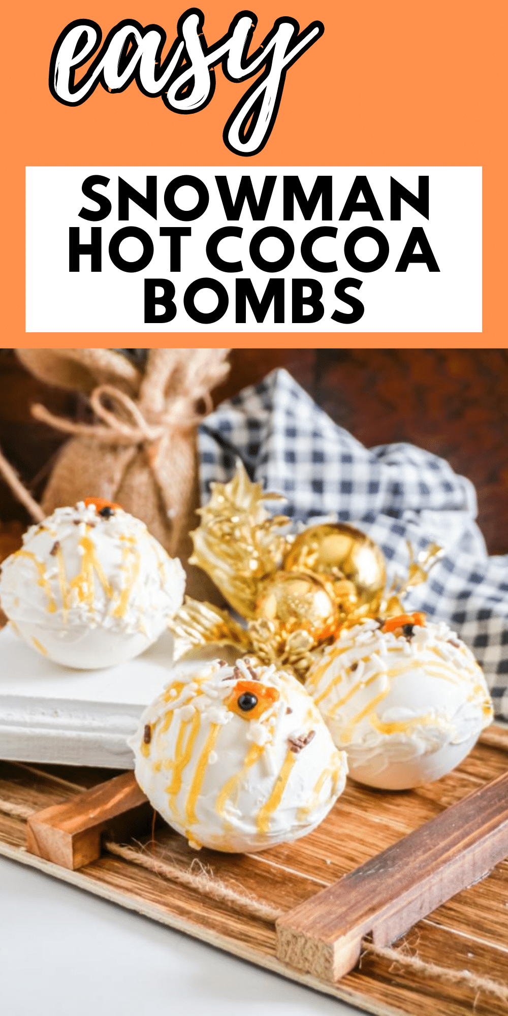 If you're looking for an awesome new treat, don't miss out on these Snowman Hot Cocoa Bombs! Perfect for your hot chocolate cravings! #snowman #hotcocoa #hotcocoabombs via @wondermomwannab