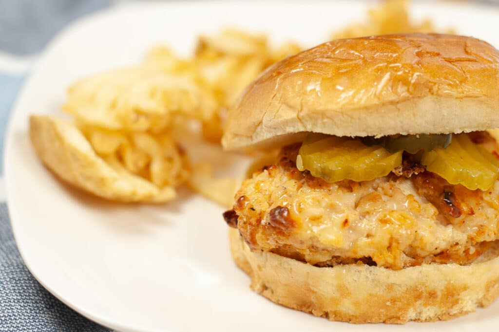 Air Fryer Copycat Chick-Fil-A Sandwich
