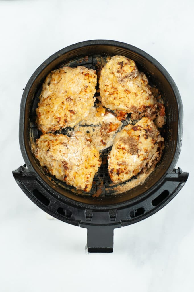 chicken in an air fryer