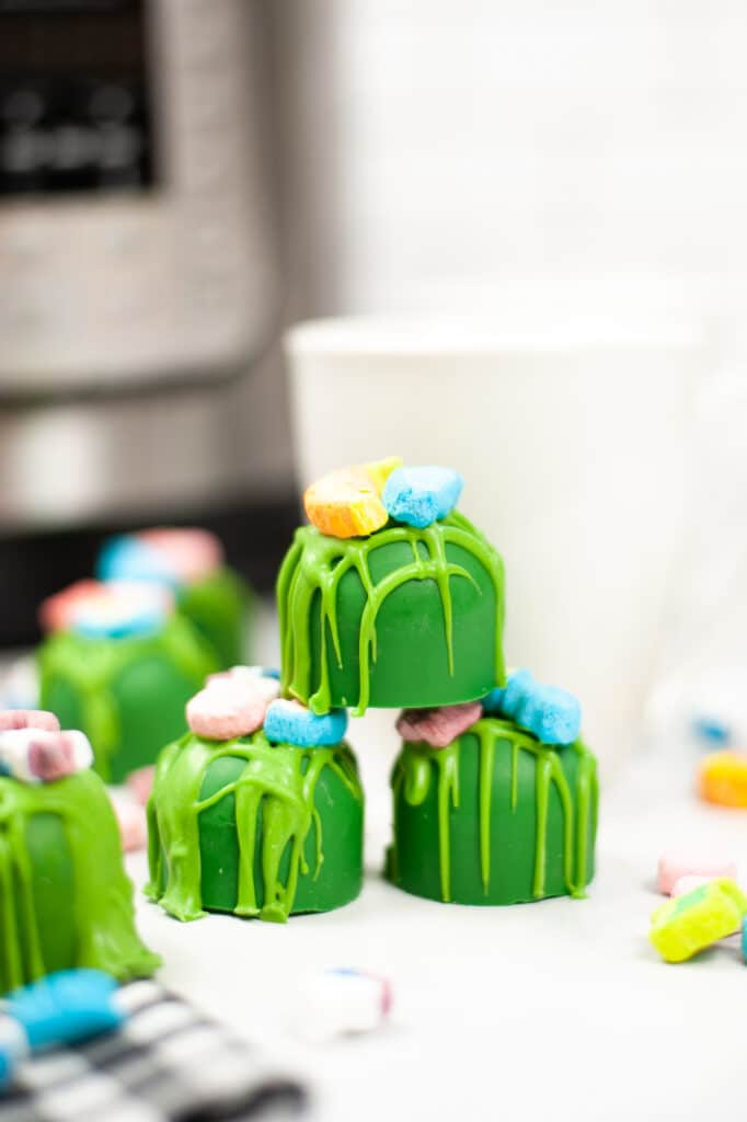 Instant Pot St. Patrick's Day Hot Cocoa Bombs