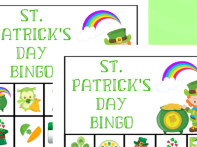 st. patricks day bingo game