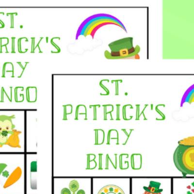 st. patricks day bingo game