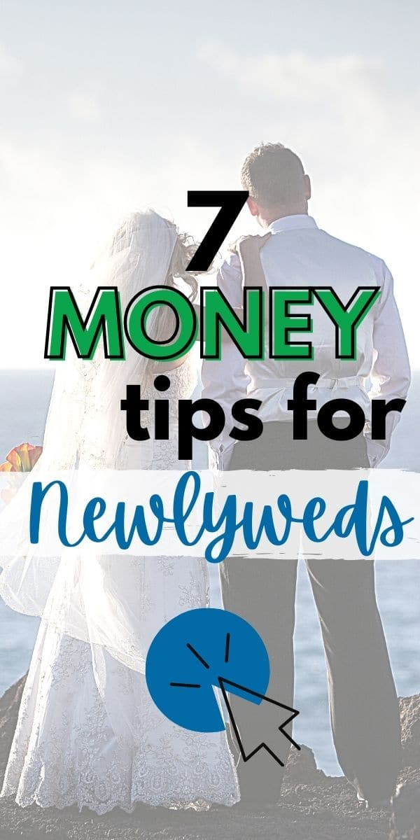 These 7 money saving tips for newlyweds will help new couples set themselves up for a lifetime of financial security and freedom! Simple, straightforward advice that is easy to follow. via @wondermomwannab