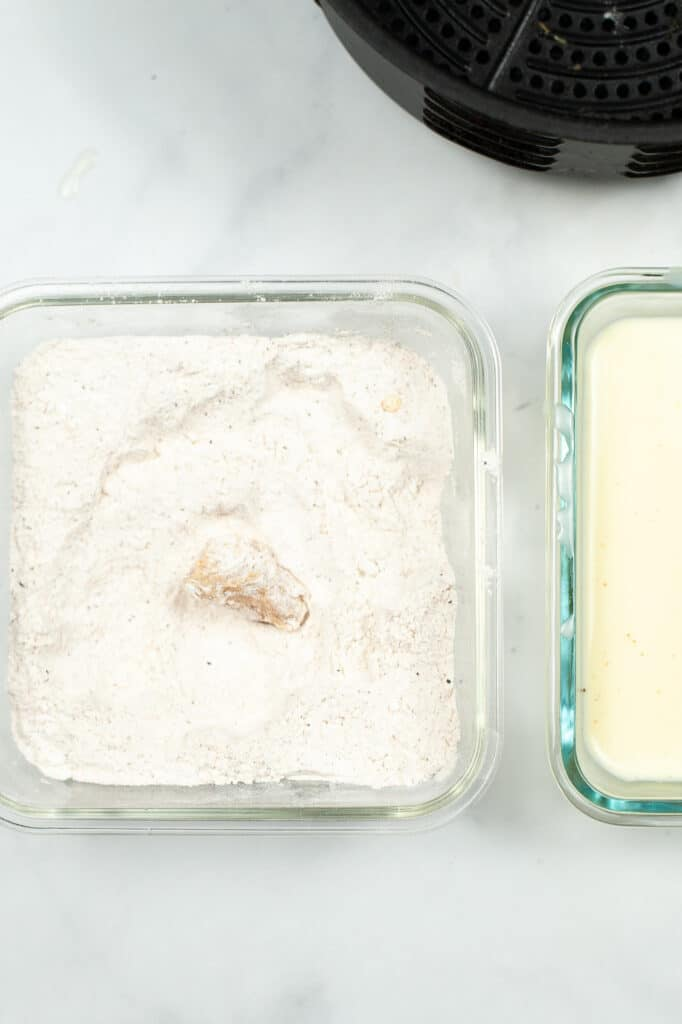 flour mixture for chicken nuggets