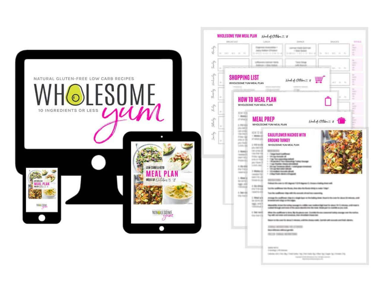 Low Carb & Keto Weekly Meal Plans