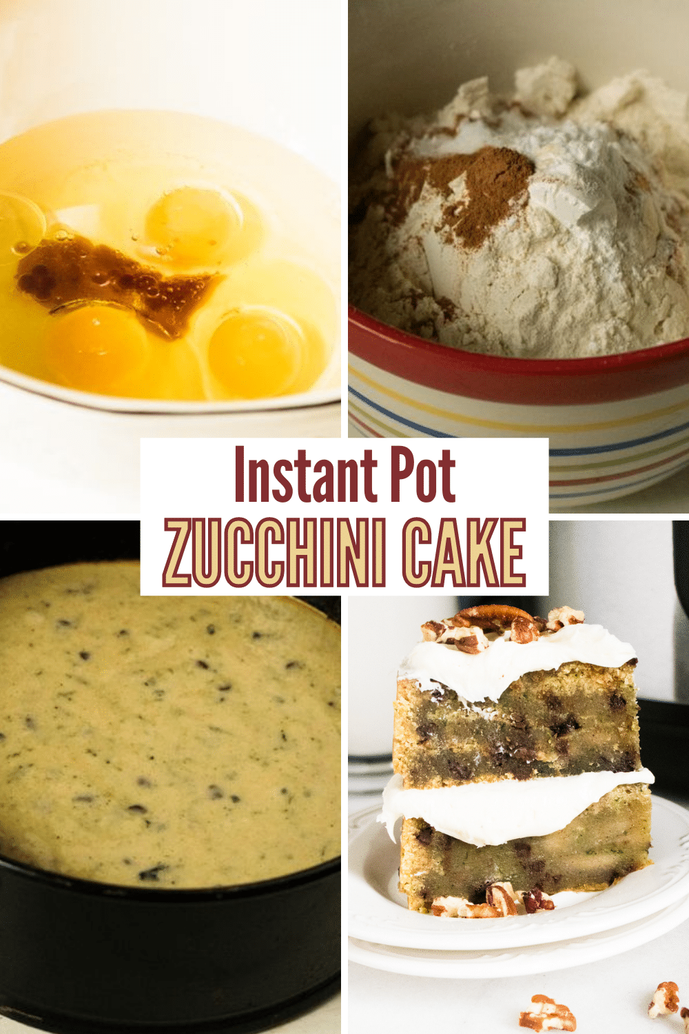Instant Pot Zucchini Bread is the best zucchini bread I've ever tried. This bread is soft, and full of sweet cinnamon and zucchini flavor. #instantpot #pressurecooker #zucchinibread #recipe via @wondermomwannab
