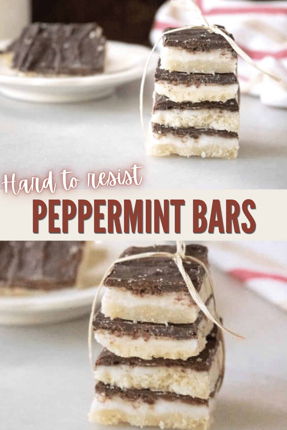The delicious flavors of these peppermint bars will keep you wanting more. Chocolate and peppermint combine perfectly in an easy dessert recipe. #peppermint #dessert #peppermintbars via @wondermomwannab