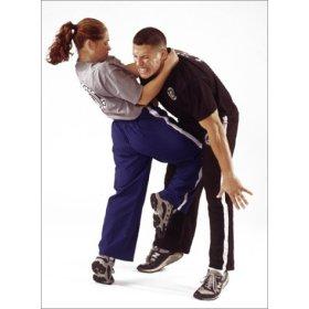 woman kneeing man